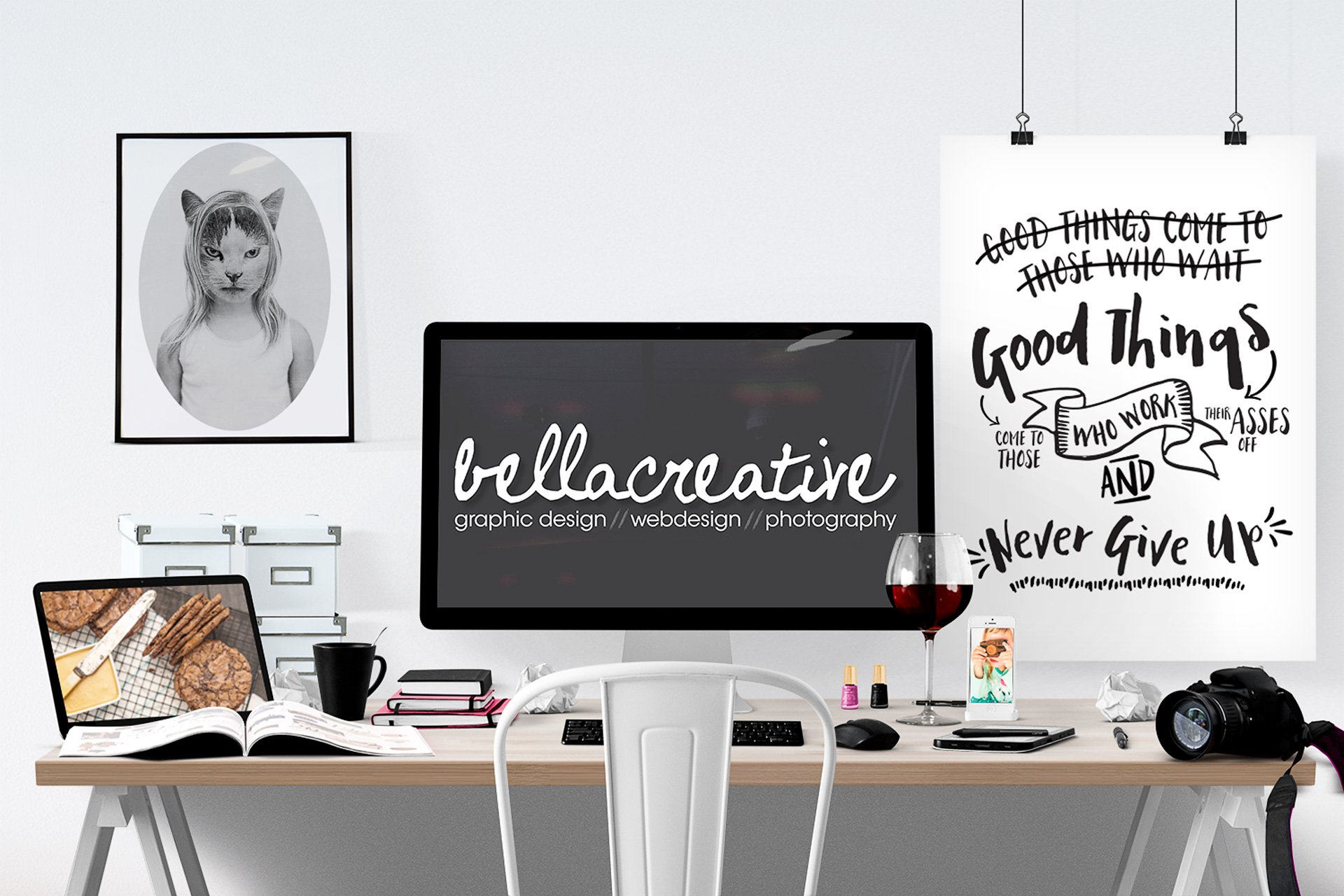 Bella Creative Graphic Design, Web Design, Food & Commercial Photography